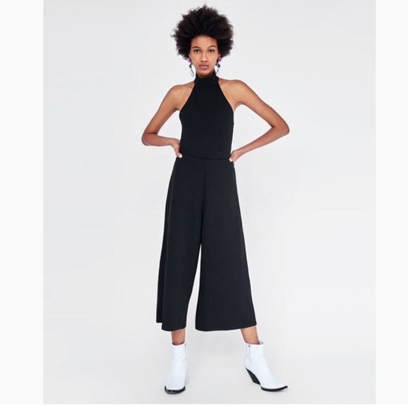 f725dacdb82c Zara Pants | High Waisted Culottes Trousers | Poshmark